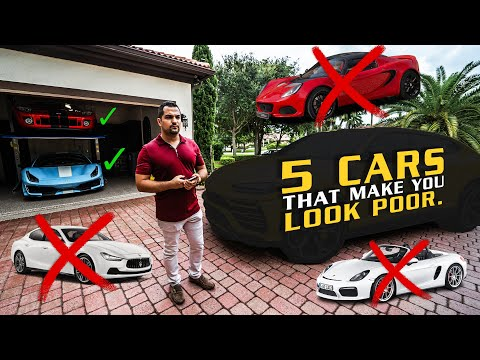 """Top 5 """"Exotic Cars"""" That You Should NEVER Buy. EVER.  *UNCENSORED*"""