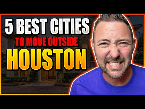 Top 5 Cities EVERYONE is Moving to OUTSIDE of Houston Texas