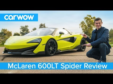 McLaren 600LT Spider 2020 FULL review – and see why it's great for toasting marshmallows!